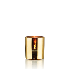 HURRICANE LAMP SMALL GOLD