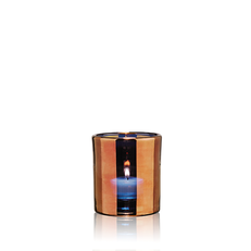 HURRICANE LAMP SMALL BRONZE
