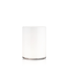 HURRICANE LAMP MEDIUM WHITE